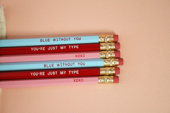 Enamored pencil Set