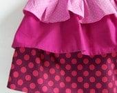 Girls Layered Skirt Sewing Pattern (Sizes 0-6m, 6-12m, 12-8m, 2-3T, 4-5, 6-7) TEA PARTY Skirt