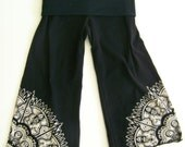 Yoga Pants PDF Pattern - 2 styles - Easy Fit or Fitted Pants - sizes NB, 6m, 12m, 18m, 2t, 3t, 4, 5, 6
