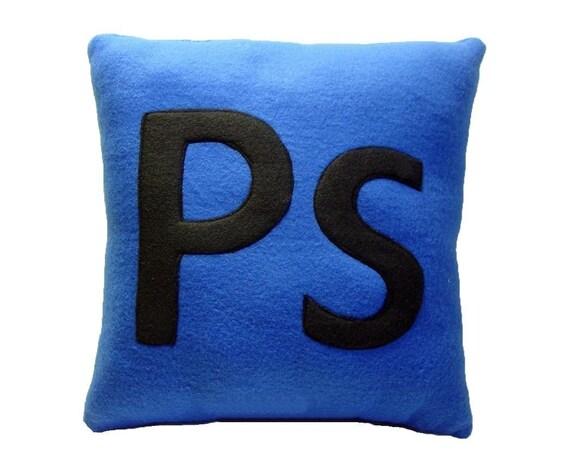 Ps Pillow - Blue