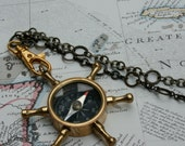 Steampunk Pocket Compass