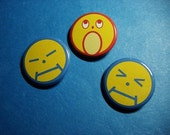 Ema Skye from Phoenix Wright Ace Attorney Pinback Button Set (or Magnets)