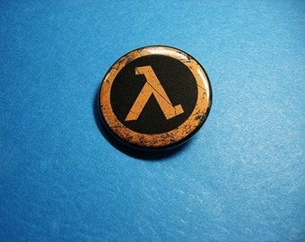 Lambda Pinback Button (or Magnet)