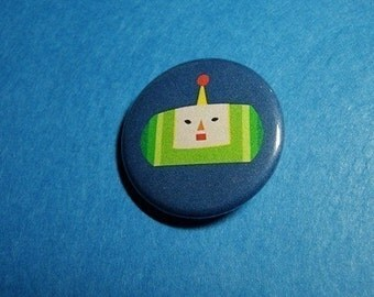 Katamari Damacy Prince Pinback Button (or Magnet)