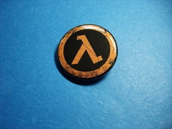 Lambda Pinback Button (or Magnet)
