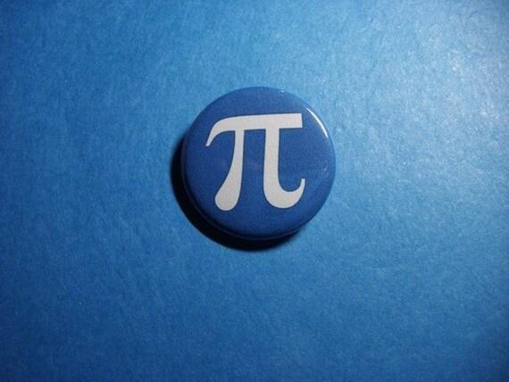 Pi Pinback Button (or Magnet)