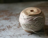 Lovely old spool of twine/embroidery thread