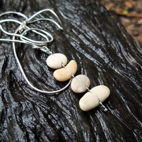 Natural stone necklace - unique jewelry handmade by NaturesArtMelbourne