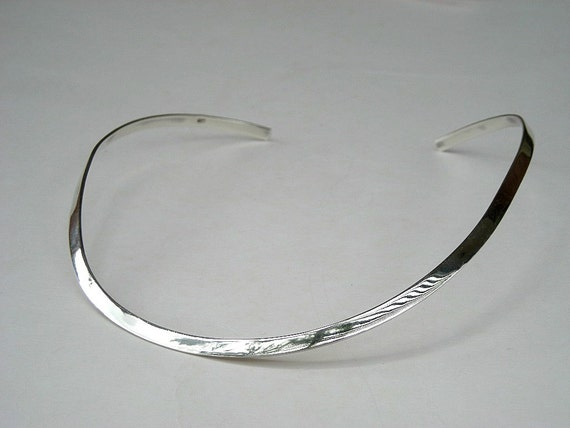 Sterling Silver Choker / stunning in its simplicity