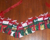 Personalized Stocking ornaments