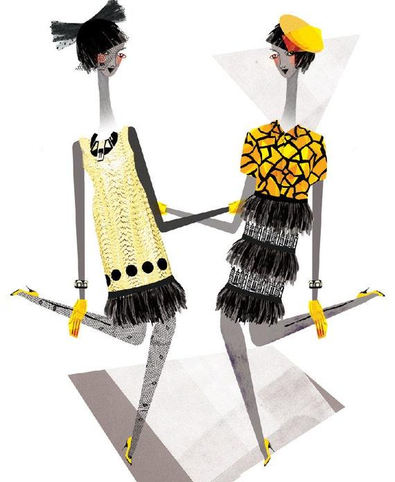 Holly Fulton - Fashion Illustration Print