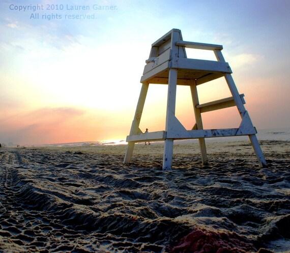 Morning Has Broken - Beach Sunrise Sunset Photography Surf Nautical Fine Art Lustre Print - 8x10 Photograph