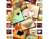 BUY THREE Get One FREE - SPICY LOVE - scrabble tiles 0,83 x 0,75 inch for pendants and more - Download and Print Digital Collage Sheet - You can print it as many time as you need -
