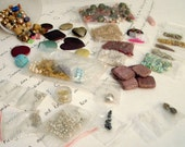 DESTACH  Lots of beads, Chains, Findings, Upcycled, Recycled, DIY, Vintage