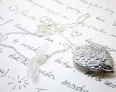 The Long Heart Necklace