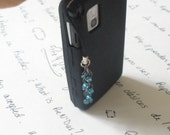 Blue Cell Phone Adornment