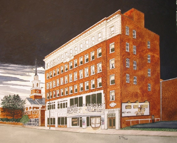 playhouse theater in statesville nc print from the original