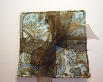 Scented Fabric Coaster Set