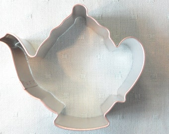 Teapot Cookie Cutter 3.75 inches