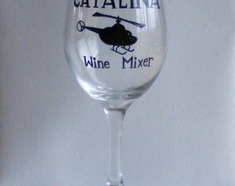 Catalina Wine Mixer funny wine glass