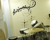 Music To My Walls - Musical Notes vinyl wall decal graphic wall art