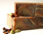 Astarte, Goddess of the Evening Star - Spiced Milk and Honey handmade soap with cardamom, cinnamon, clove, and vanilla