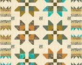Quilt Pattern- Native Star- Easy Quilt Pattern