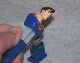 8 gb Flash Drive / Superman Candy Dispenser