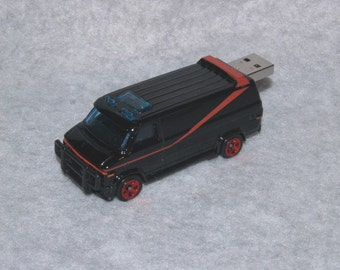 4GB USB A Team Van Flash Drive