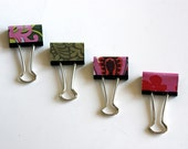 4 Amy Butler Perfect Bind Binder Clips