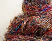 Recycled Sari Silk Yarn - 95 gm
