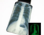 X-Ray Glow in the Dark Gadget Case - Fits iphone iTouch and more