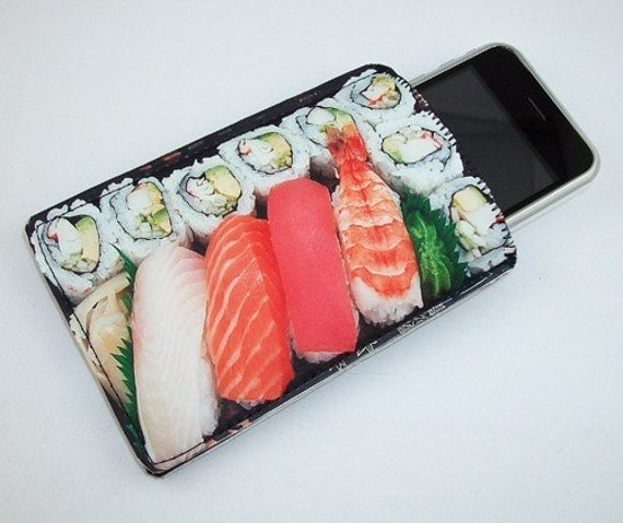 Sushi Bento Box Japanese Cuisine Gadget Case - iPhone iTouch Eris Hero Zune HD and More