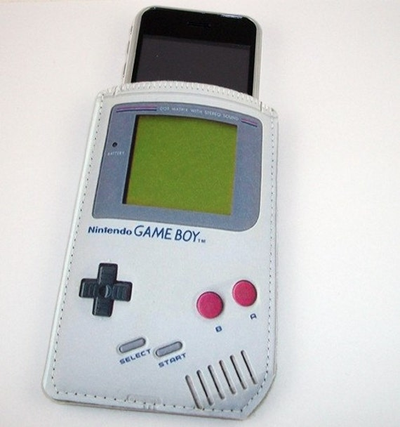 Realistic Gameboy Hand Held Game icase - iPhone iTouch Hero Eris Zune HD and More
