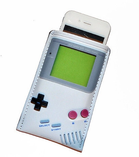 iPhone 4S Video Game Handheld Cell Phone Case Fits iPhone 3/3GS/4/4S or customize to fit iPod