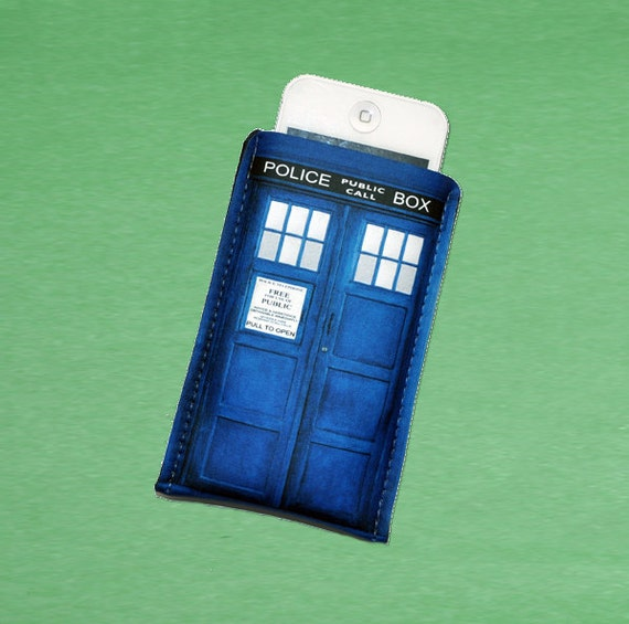 iPhone Case British Blue Police Sci- Fi Box iPhoneFits iPhone 3/3GS/4/4S or customize to fit iPod
