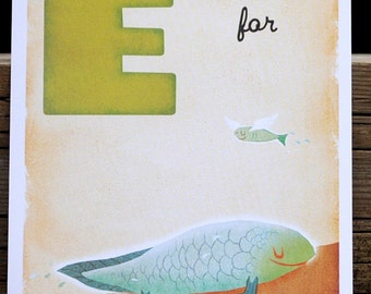 E is for Evolution - 4x6