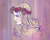Violet Woodgrain profile - PRINT - CLOSEOUT PRICE