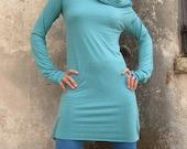 Yammi Tunic Dress With Long Sleeves