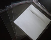 Resealable Cello Bags 170mm x 170mm (Square) (Pack of 100)
