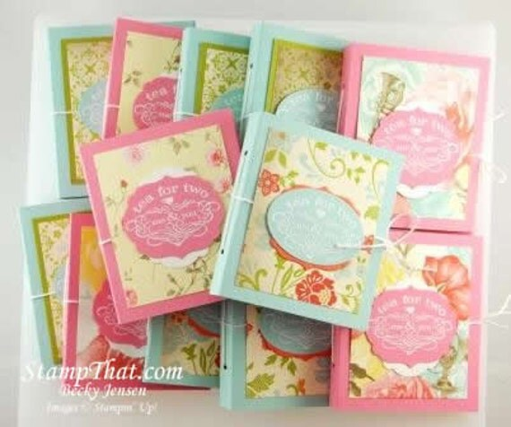 24 Tea Party Favors - Tea for Two Packs