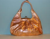 Vintage inspired copper purse