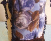 chocolate and blue roses - oxygen tank cover bag