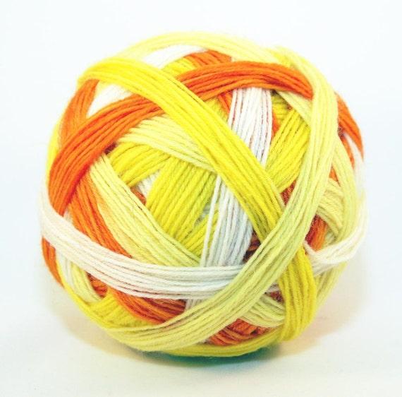 An Orange - Self Striping Sock Yarn