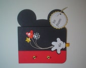 PRH07 Disney Magic Mickey Gift Card Holder Template SVG / Printable PDF Outline - Wallet - PR