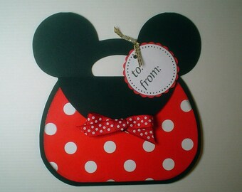 PRH08 Disney Magic Minnie Gift Card Holder Template SVG / Printable PDF Outline - Purse