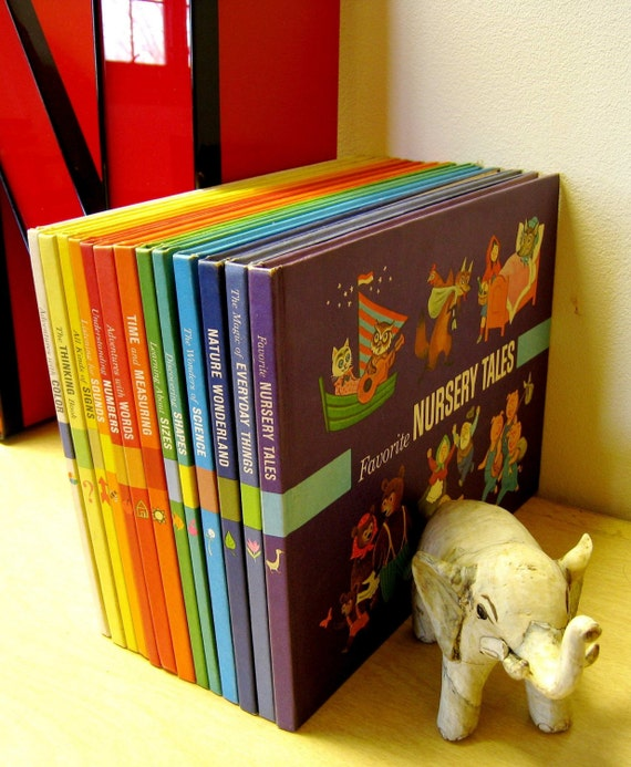 Vintage Encyclopedia Britannica Kids Collection By