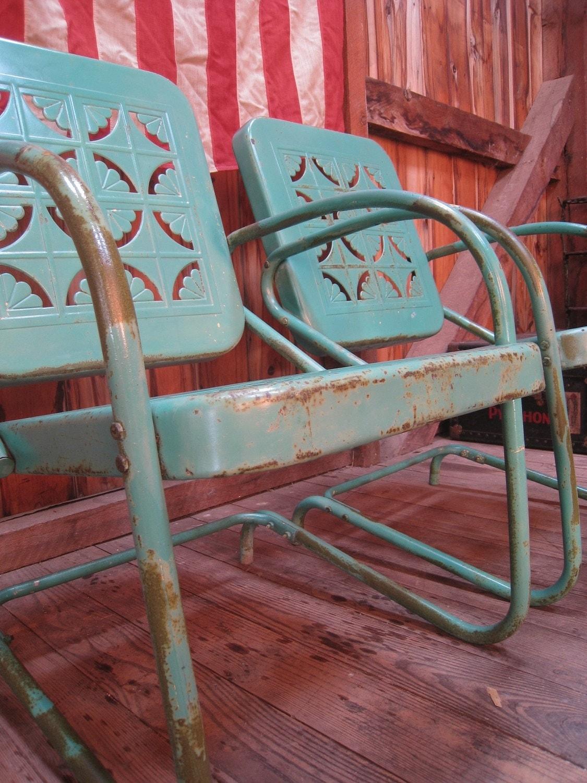 High Metal Chairs