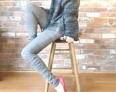 No.08 Bamboo Ruched Leggings