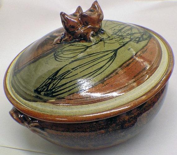 Ceramic Stoneware Baking : Appleware pottery stoneware casserole baking dish photo